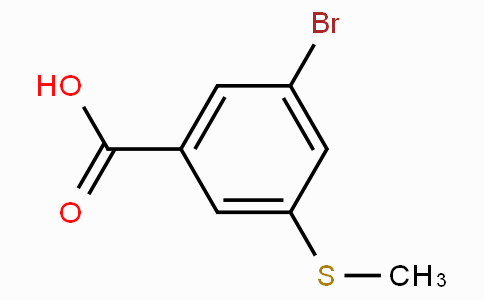 3-Bromo-5-(methylthio)benzoic acid