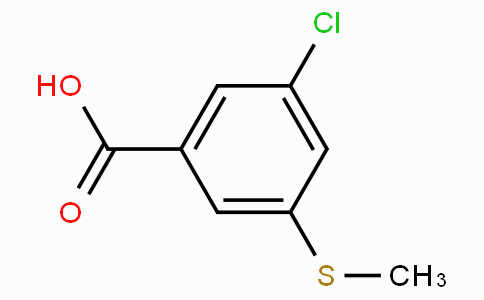 3-Chloro-5-(methylthio)benzoic acid
