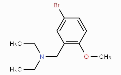 [(5-Bromo-2-methoxyphenyl)methyl]diethylamine