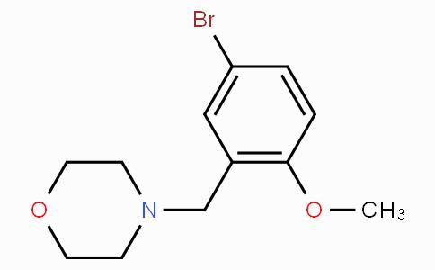 4-(5-Bromo-2-methoxybenzyl)morpholine