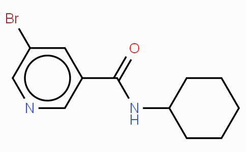 N-Cyclohexyl 5-bromonicatinamide