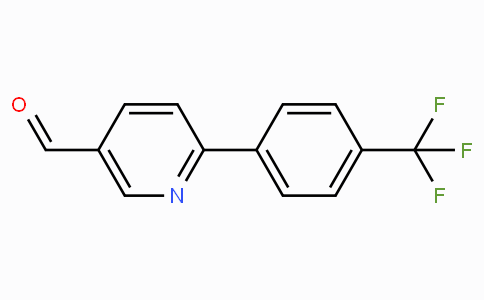 6-(4-(trifluoromethyl)phenyl)nicotinaldehyde