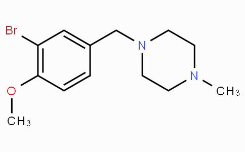 1-[(3-Bromo-4-methoxyphenyl)methyl]-4-methylpiperazine
