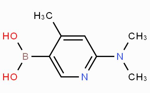 2-(Dimethylamino)-4-methylpyridine-5-boronic acid