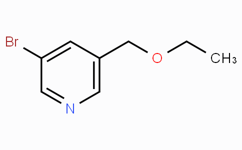 3-Bromo-5-(ethoxymethyl)pyridine