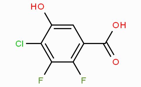 4-Chloro-2,3-difluoro-5-hydroxybenzoic acid