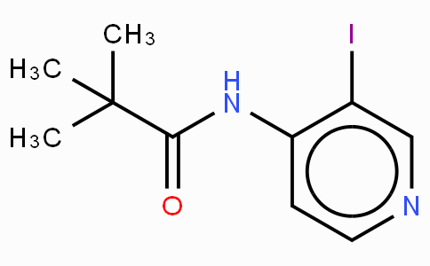 N-(3-iodo-4-pyriidinyl)-2,2-dimethylpropanamide