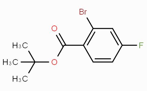 tert-Butyl 2-bromo-4-fluorobenzoate