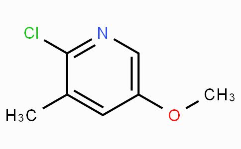 2-Chloro-5-methoxy-3-methylpyridine