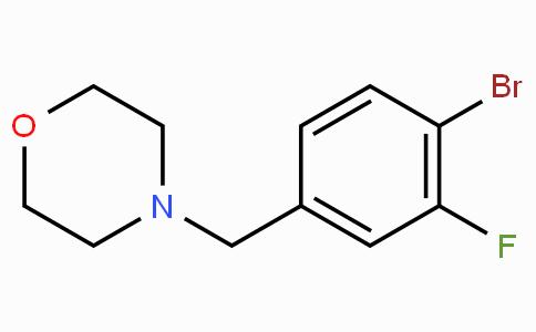 N-(4-Bromo-3-fluorobenzyl)morpholine