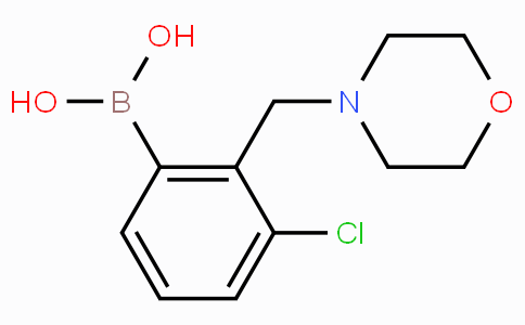 3-Chloro-2-(morpholinomethyl)phenylboronic acid
