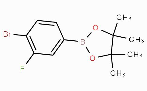 4-溴-3-氟苯基硼酸频哪醇酯