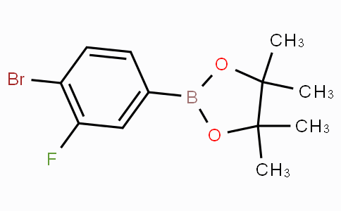 4-Bromo-3-fluorophenylboronic acid pinacol ester