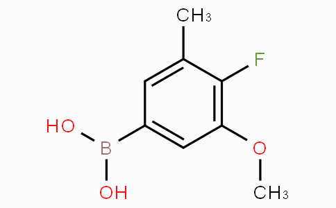 4-Fluoro-3-methoxy-5-methylphenylboronic acid