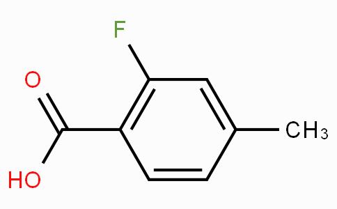 2-氟-4-甲基苯甲酸