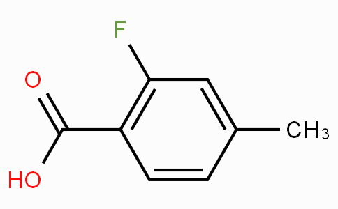 2-Fluoro-4-methylbenzoic acid