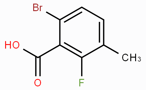 6-Bromo-2-fluoro-3-methylbenzoic acid