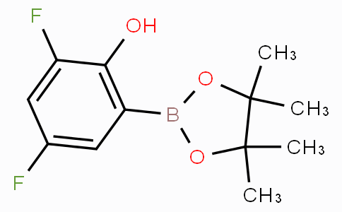 3,5-Difluoro-2-hydroxyphenylboronic acid pinacol ester