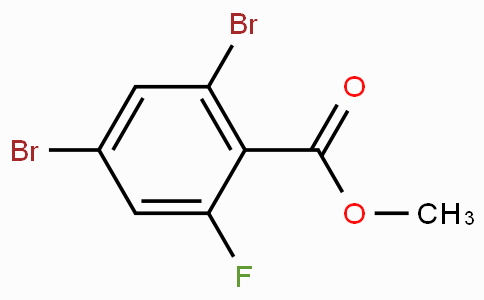 Methyl 2,4-dibromo-6-fluorobenzoate