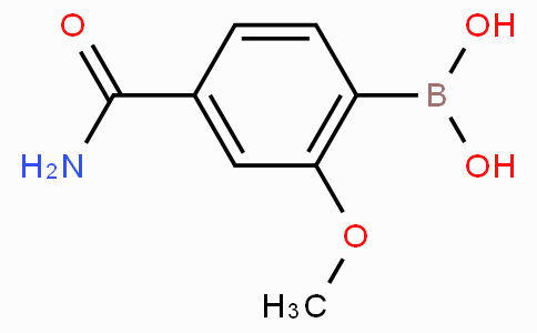 4-Carbamoyl-2-methoxyphenylboronic acid