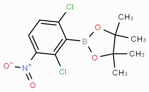 2,6-Dichloro-3-nitrophenylboronic acid pinacol ester