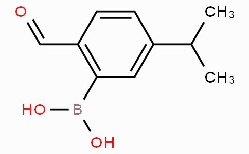 2-甲酰基-5-异丙基苯基硼酸