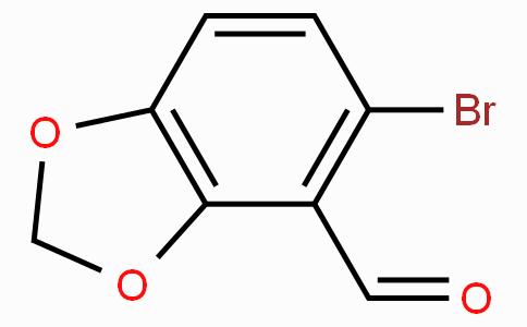 5-溴-1,3-苯并二氧杂环戊二烯-4-甲醛