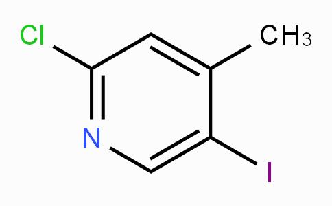 2-氯-4-甲基-5-碘吡啶
