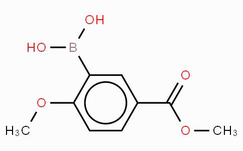 2-Methoxy-5-methoxycarbonylphenyboronic acid
