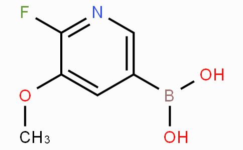 2-Fluoro-3-methoxypyridine-5-boronic acid