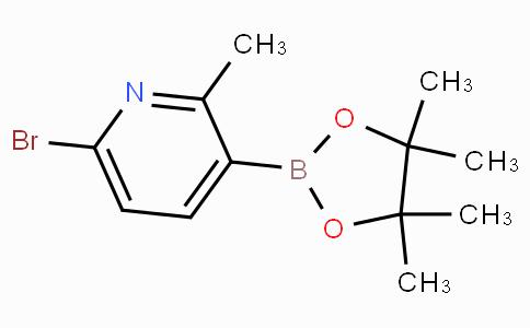 6-Bromo-2-methylpyridine-3-boronic acid pinacol ester