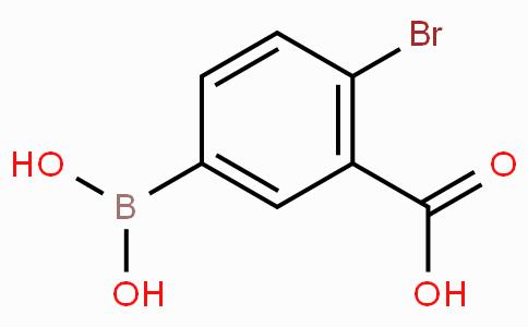 4-溴-3-羧基苯基硼酸
