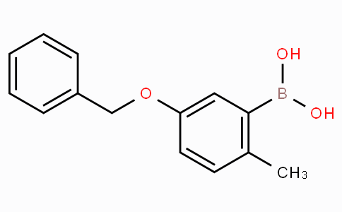 5-(Benzyloxy)-2-methylphenylboronic acid