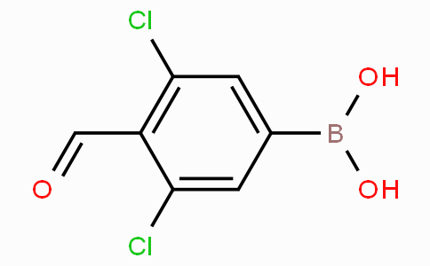 3,5-Dichloro-4-formylphenylboronic acid