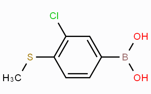 3-Chloro-4-(methylthio)phenylboronic acid