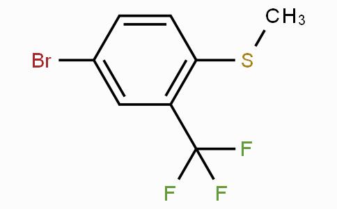4-Bromo-1-(methylthio)-2-(trifluoromethyl)-benzene