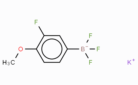 Potassium(3-Fluoro-4-methoxyphenyl)trifluoroborate