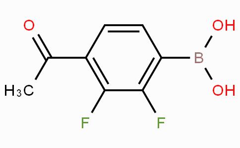 4-乙酰基-2,3-二氟苯基硼酸