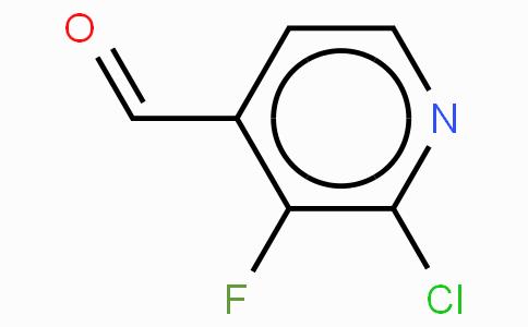 2-Chloro-3-fluoropyridine-4-carboxaldehye