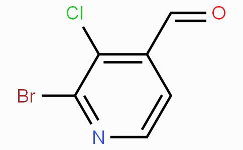 2-溴-3-氯吡啶-4-甲醛