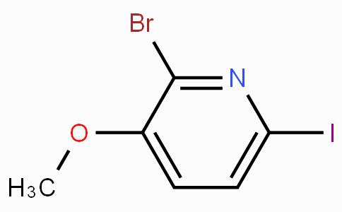 2-溴-6-碘-3-甲氧基吡啶