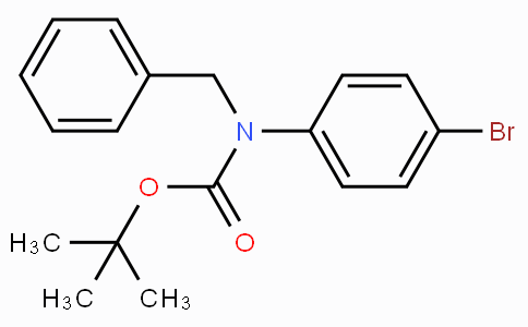tert-Butyl benzyl(4-bromophenyl)carbamate