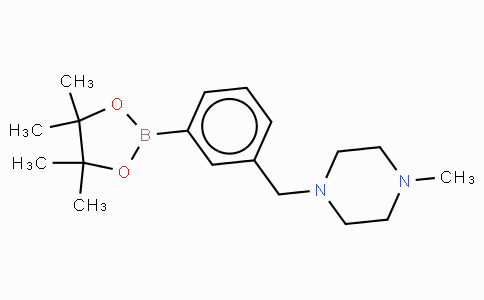 3-(4-Methyl-1-piperazinylmethyl)benzeneboronic acid pinacol ester