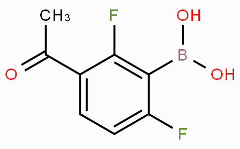 3-Acetyl-2,6-difluorophenylboronic acid