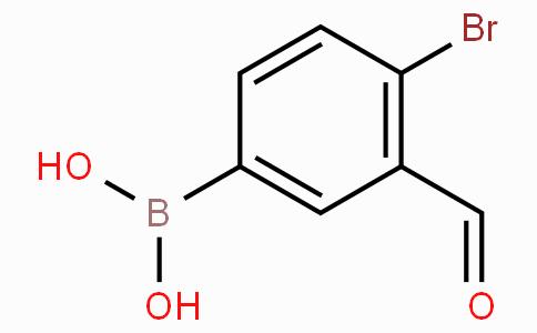 4-Bromo-3-formylphenylboronic acid