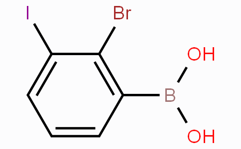 2-Bromo-3-iodophenylboronic acid