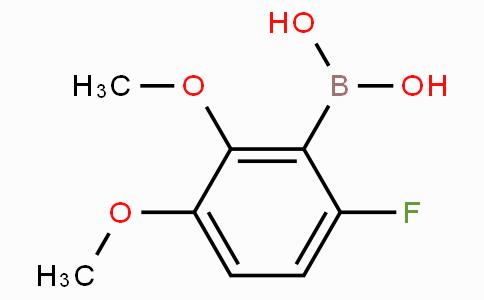 2,3-Dimethoxy-6-fluorophenylboronic acid