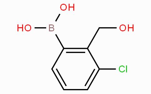3-氯-2-羟甲基苯基硼酸