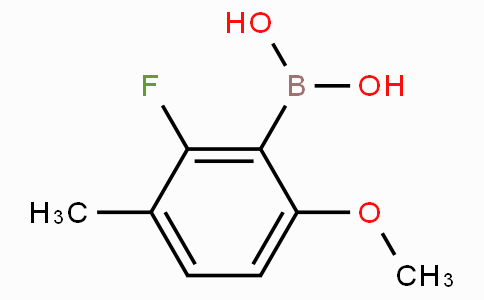 2-Fluoro-6-methoxy-3-methylphenylboronic acid