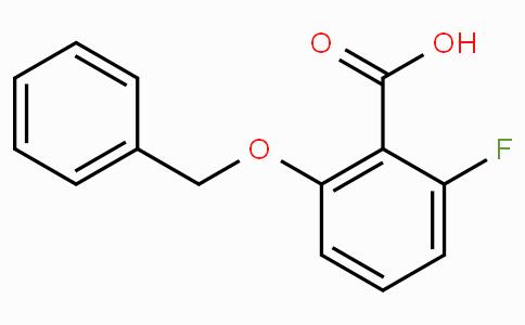 2-Benzyloxy-6-fluorobenzoic acid